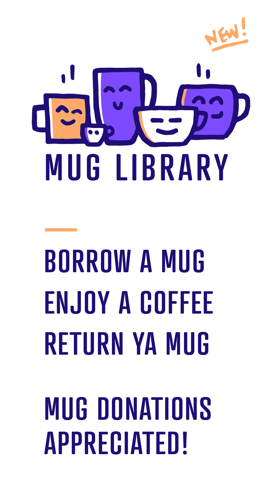 mug library instructions digital graphic